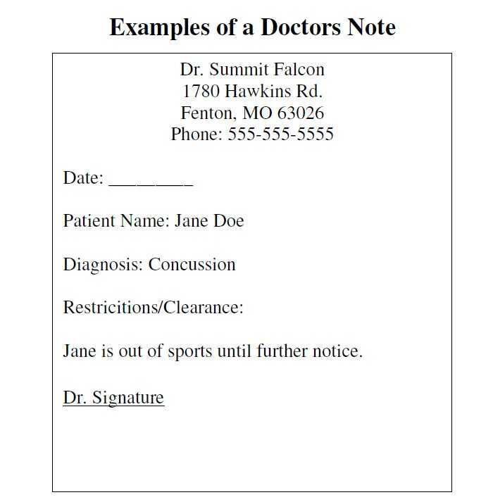 Doctors Note Template Free Doctors Notes Fake Feira Mercado Doctors LDEklD0z