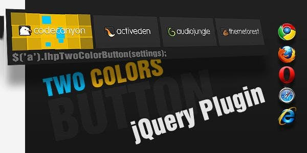 jquery animated button menu