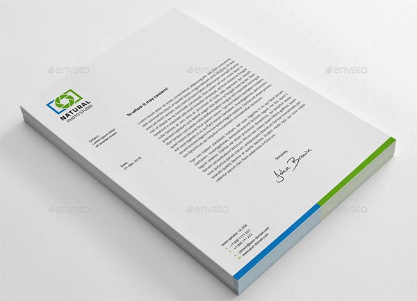 PSD Letterhead Template 51 Free PSD Format Download – Stationery Templates for Designers