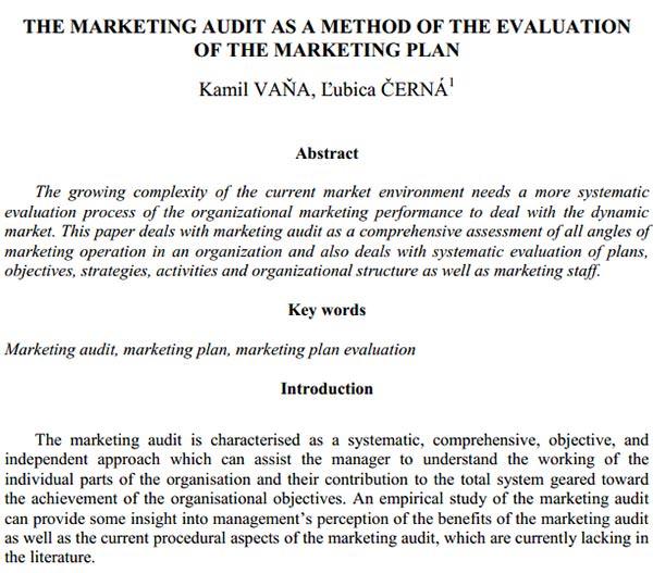 marketing audit1