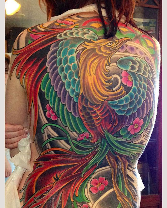 tattoo phoenix 2