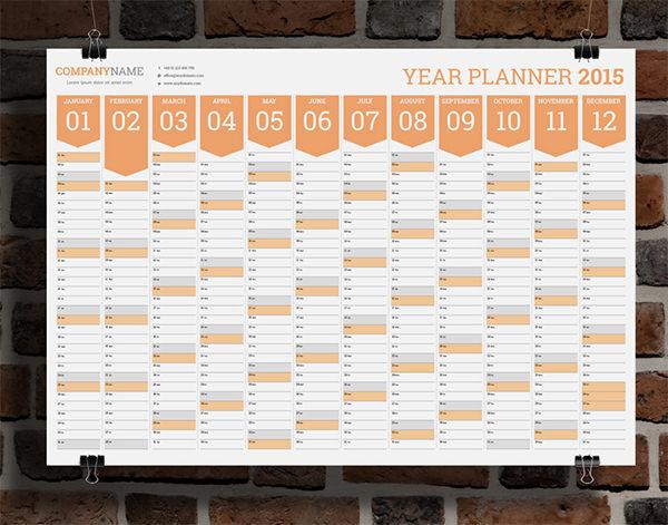 wall calendar design template castrophotos