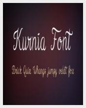 Kurnia Wedding Font