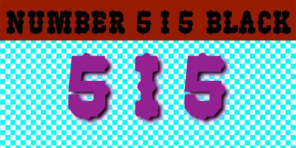 racing number font free download