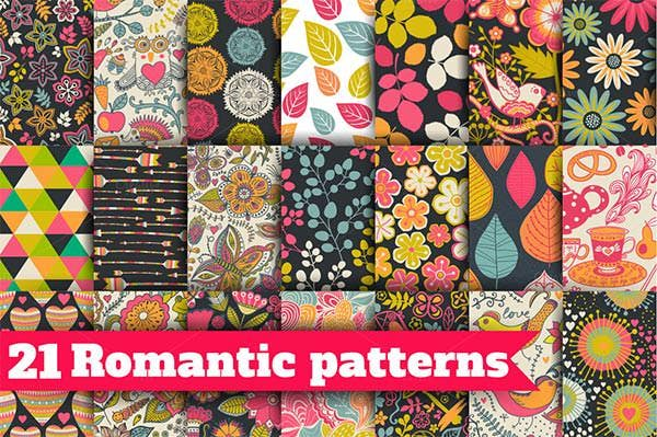 21 valentines day patterns collection