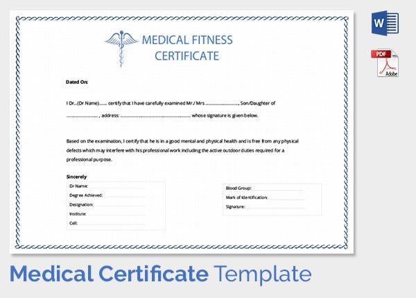 Medical Certification for Sickness Absence