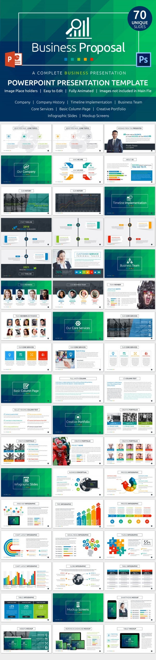 25 powerpoint templates with animation free premium for Rfp presentation template