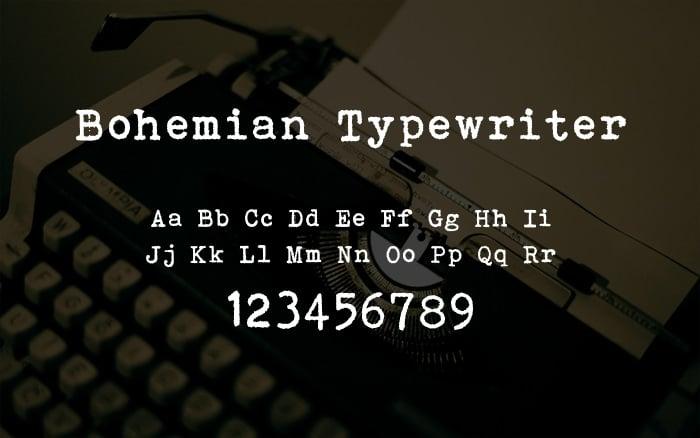 Best Typewriter Fonts
