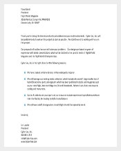 Business Letter Template PDF Free