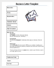 PDF Format Free Download Business Letter