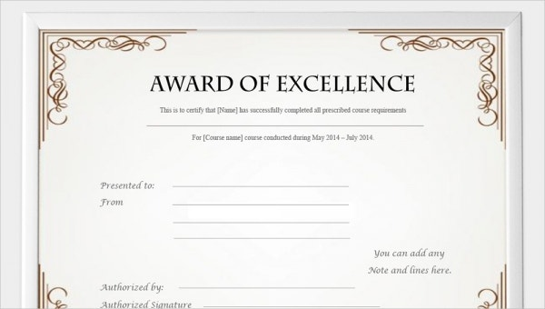 picture relating to Free Printable Certificates of Completion called 99+ Cost-free Printable Certification Template - Illustrations inside of PDF