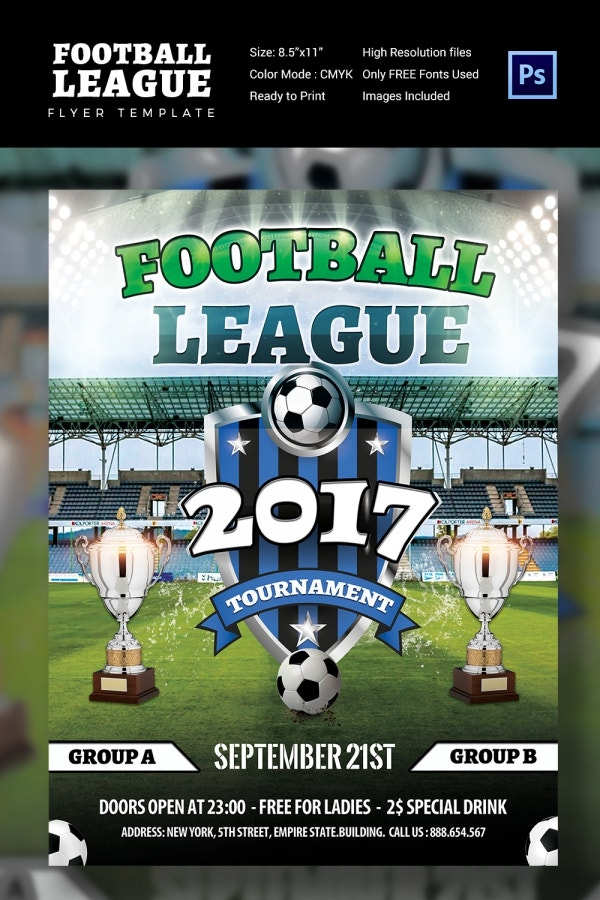 Free Soccer Flyer Template Choice Image Template Design Free Download