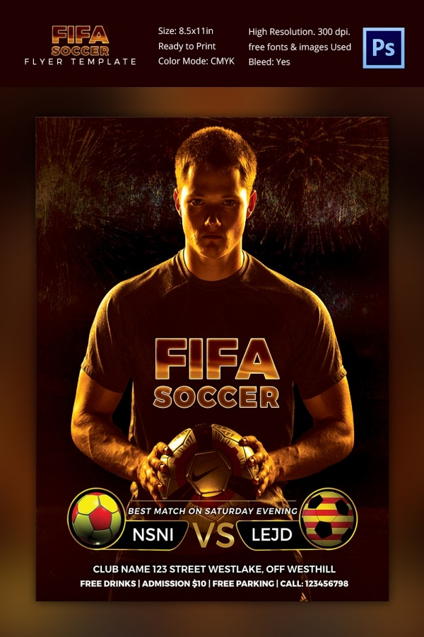 FIFA Soccer Event Flyer