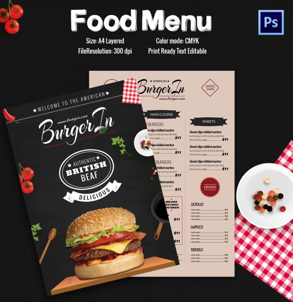 Restaurant Flyer Template 56 Free Word PDF PSD EPS InDesign – Restaurant Menu Templates Free Download Word