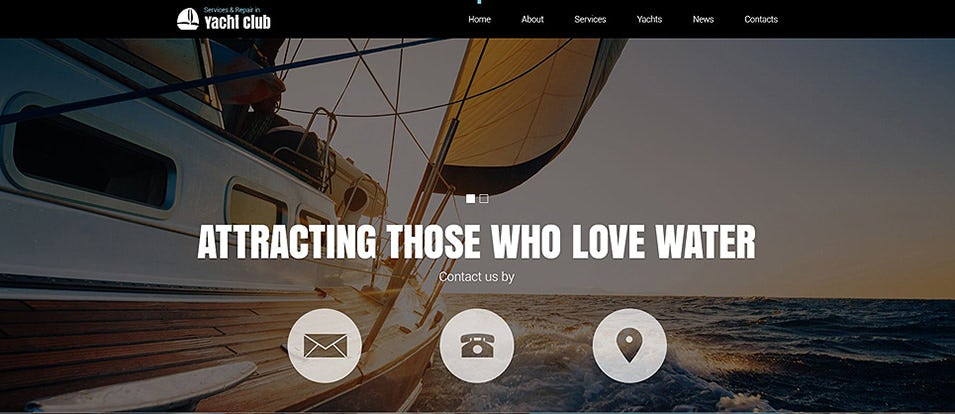 Sports Club Joomla Templates