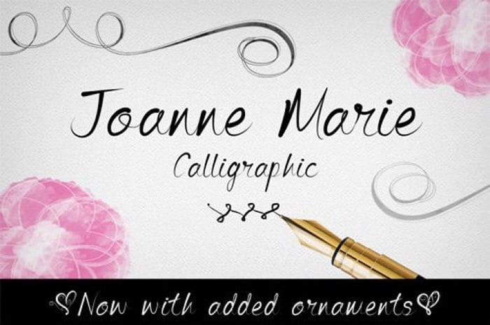 Wedding Script Calligraphy Font