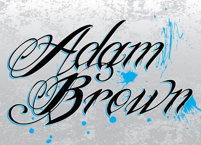 Adam-Brown Tattoo Lettering Template on tattoo banner templates, celtic tattoo templates, fairy tattoo templates, tattoo of cursive writing name, printable tattoo templates, japanese tattoo templates, rose tattoo templates, tattoo script template, tattoo letter templates, butterfly tattoo templates, henna tattoo templates, angel tattoo templates, tattoo tribal templates, dragon tattoo templates, sleeve tattoo templates, cross tattoo templates, tattoo drawing templates, ankle tattoo templates, tattoo symbols templates, skull tattoo templates,