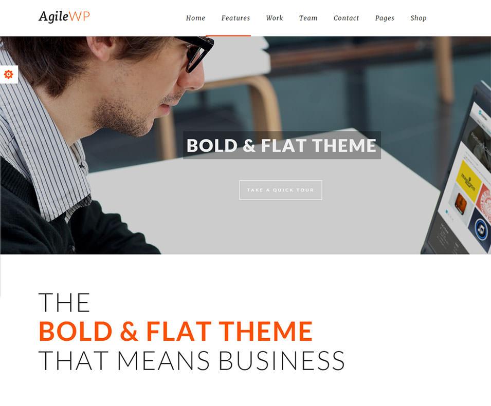 Agile Multi Purpose WordPress Theme