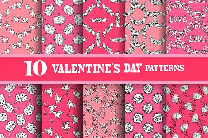 amazing valentines day patterns for designers