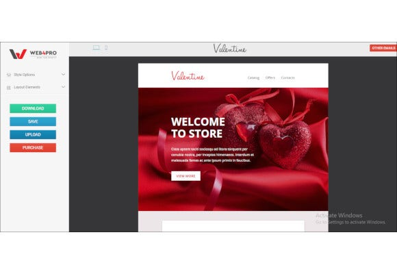 amazing valentines email template1