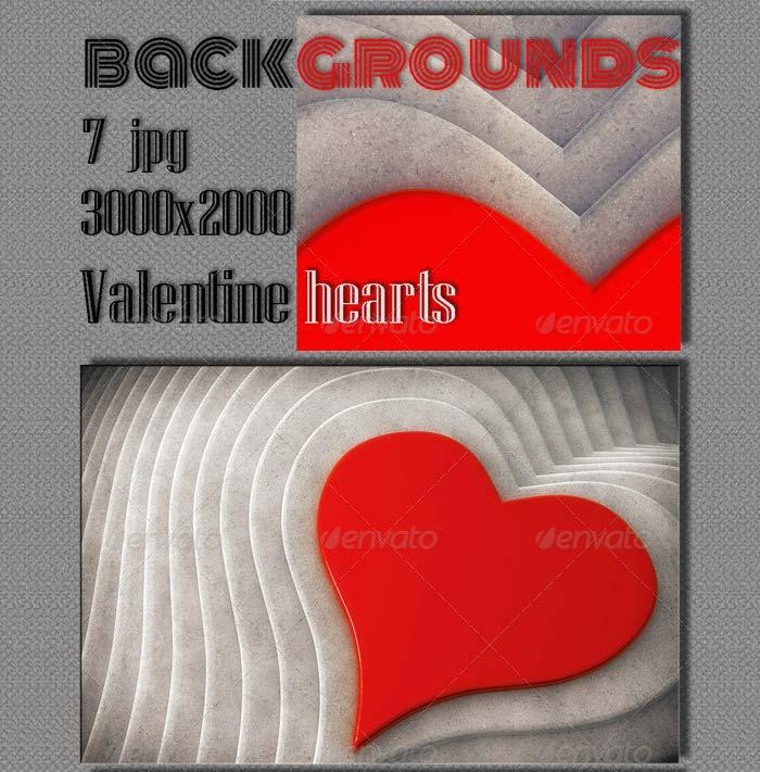 amazing vextor valentine hearts background