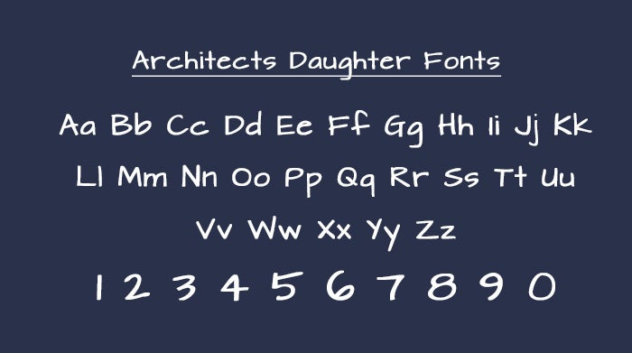 Architecture Daughter Font