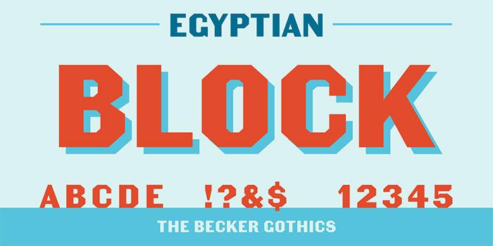 becker gothics egyptian
