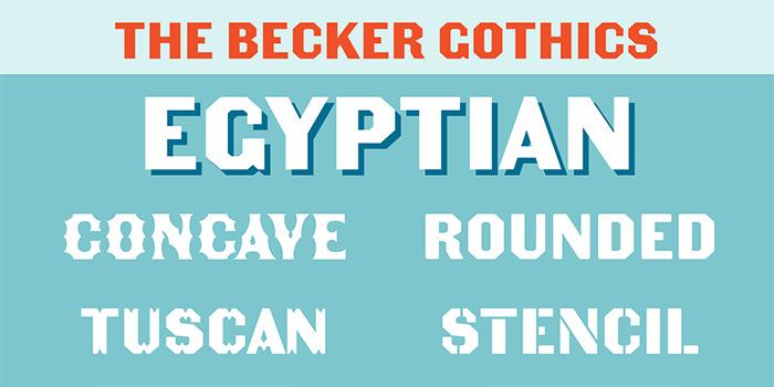 becker gothics family