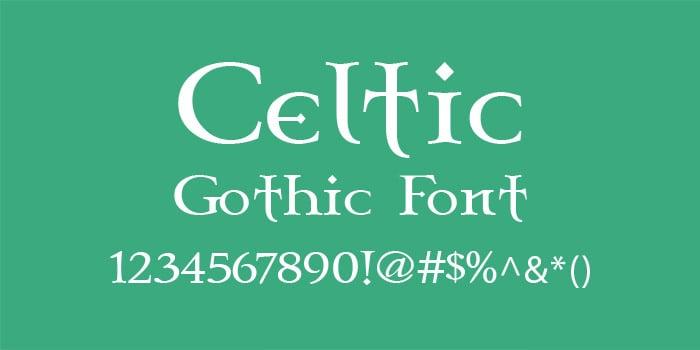 celtic garamond