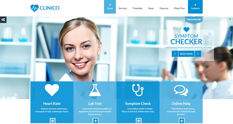 26+ Best Premium Medical Website Templates & Themes | Free & Premium ...