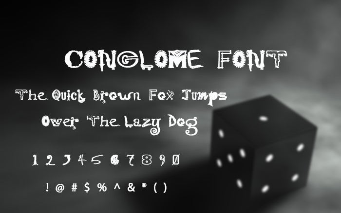 Conglomer Font.