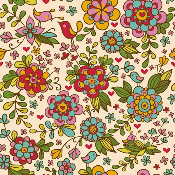 cool floral patterns collection