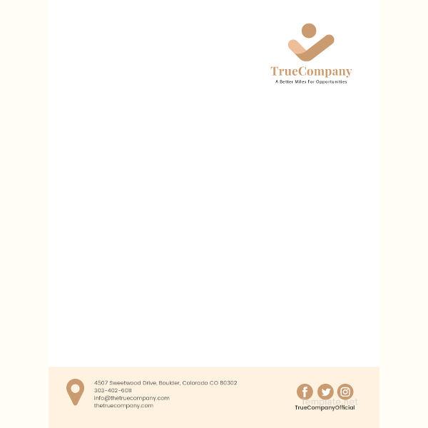 corporate letterhead template1
