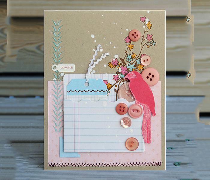 custom valentines day card