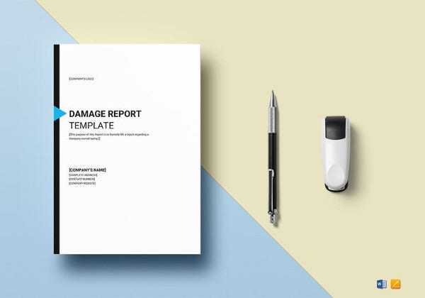 damage-report-template-in-ipages