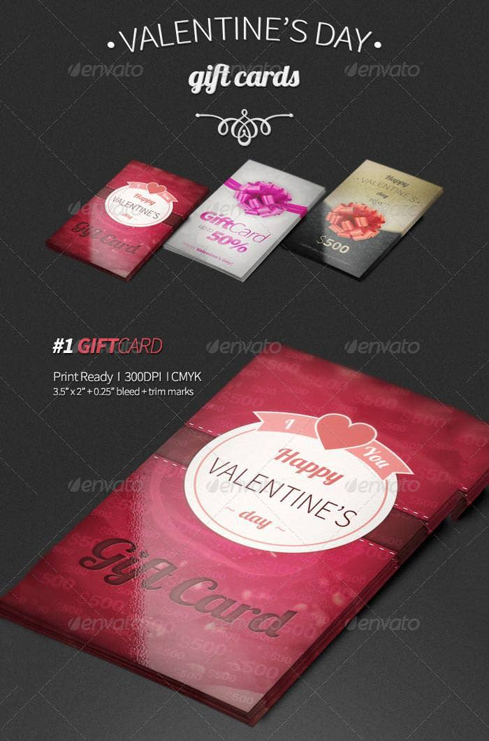 dark valentines day gift card