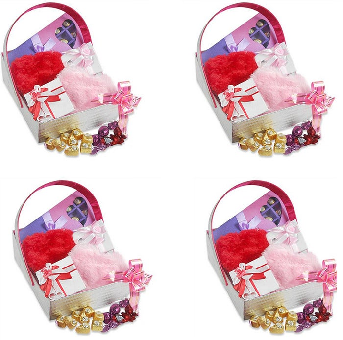 delectable chocolates lovely valentine hamper