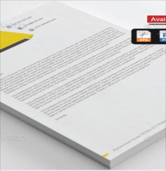 drive business letterhead