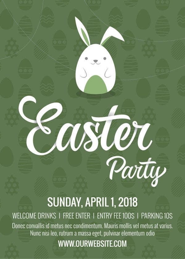 easter invitation template