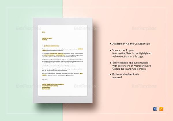 employee-dismissal-letter-template