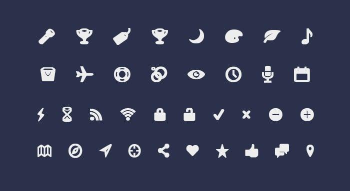 Entypo Icon Font