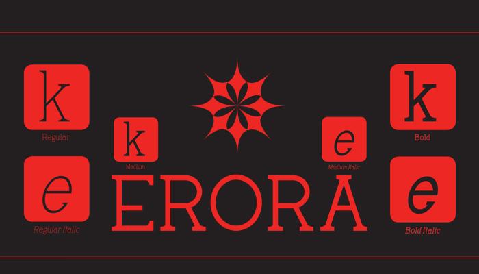 Erora_Serif Font