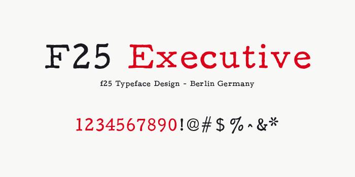 f25 executive