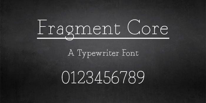 Best Typewriter Fonts | Free & Premium Templates