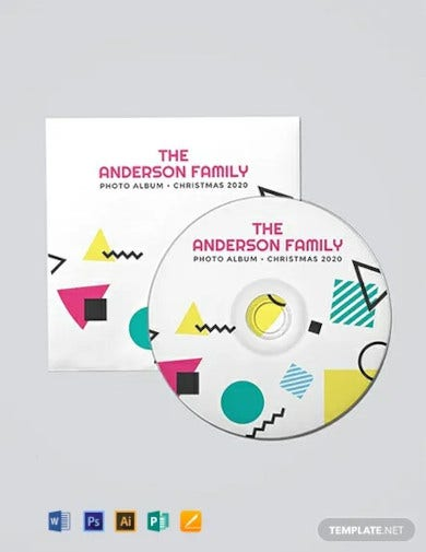 free cd dvd label template1