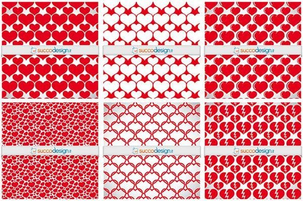 free heart high resolution patterns