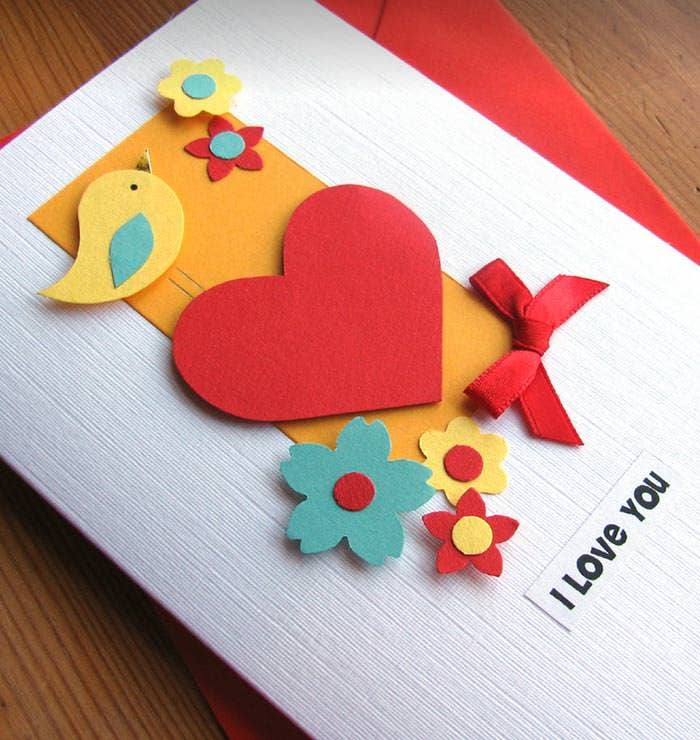 60 Happy Valentines Day Cards PSD Designs – Hand Made Valentine Cards