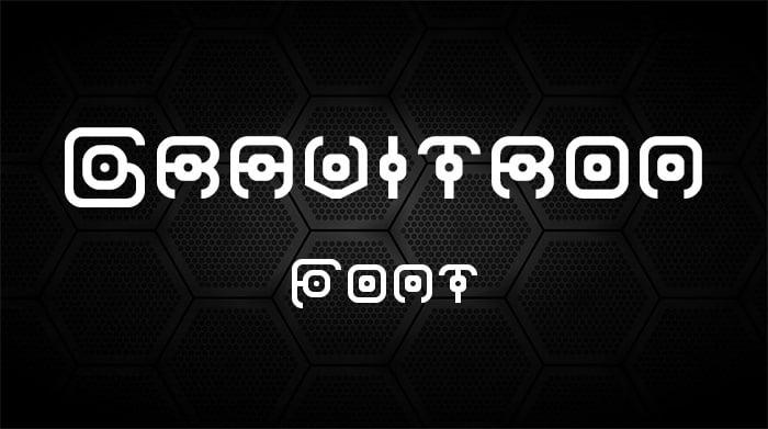 Gravatron Round Font Font