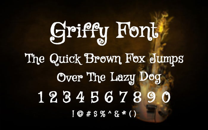 Griffty Font