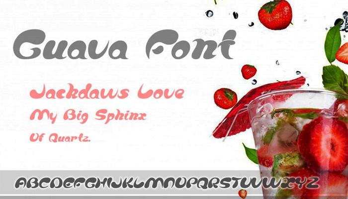 Guava_Serif Font